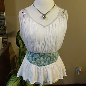Free People white tank top size small